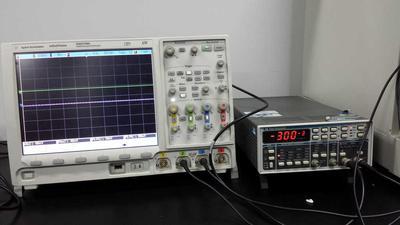 瞬态测试(示波器+信号发生器)